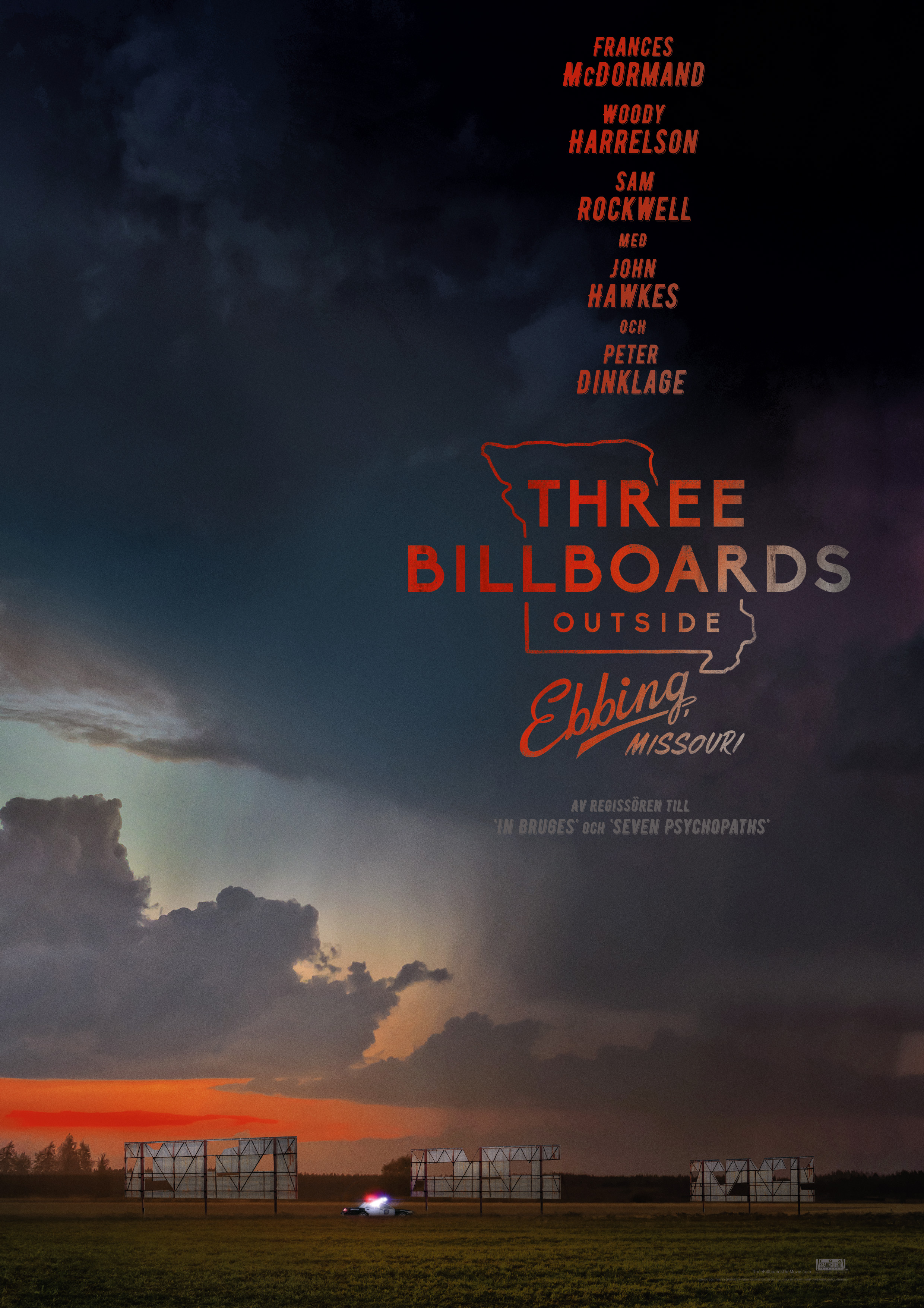 Omslag till filmen: Three Billboards Outside Ebbing, Missouri